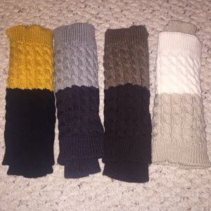 $24 for 2 pairs-Cable knit Leg warmer